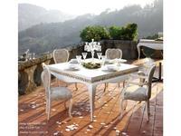 Jetclass стол обеденный раскладной (белый) Luxus