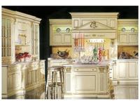 Moletta&Co кухня Анжела (слоновая кость, золото) Angela