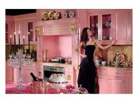 Moletta&Co кухня Анжела (розовый, золото) Angela