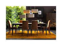 Grilli стол обеденный  (черное дерево) Zarafa