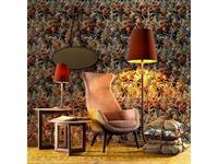 Grilli кресло  (орех, ткань) Wilde