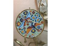 Cearco тарелка декоративная диаметр 21 см (золото, разноцветный) Ceramico