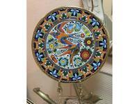 Cearco тарелка декоративная диаметр 28 см (золото, разноцветный) Ceramico