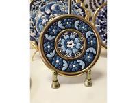 Cearco тарелка декоративная диаметр 9 см (золото) Ceramico