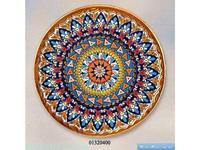 Cearco тарелка декоративная диаметр 32 см (золото) Ceramico
