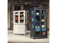 Grupo Seys витрина 2 дверная  (бирюзовый, серый) Amberes