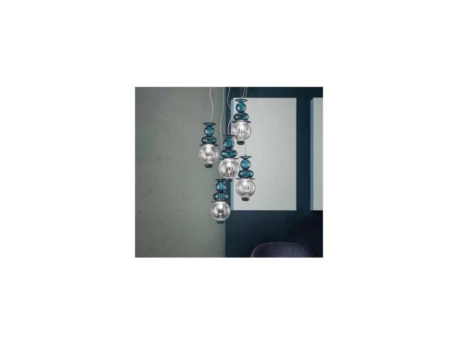 Sylcom люстра подвесная  (хром, хрусталь) Igloo