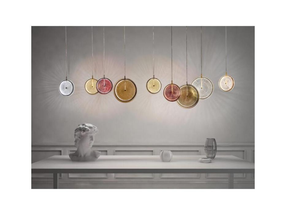 Sylcom люстра подвесная светильник (никель, аметист) Lulu