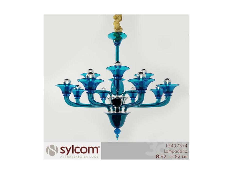 Sylcom люстра подвесная  (хром) Coner