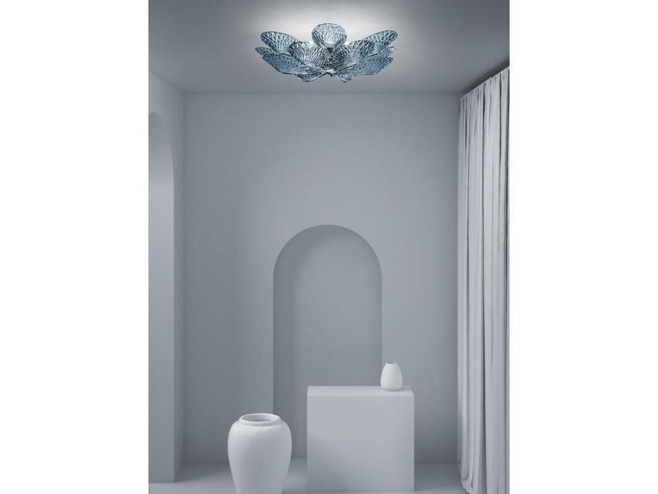 Sylcom люстра потолочная  (хром, хрусталь) Gabbiano