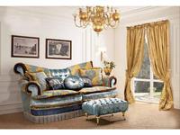 BM Style диван 3-х местный  (голубой) Квин
