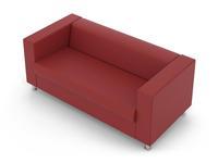 Евроформа диван 3-м (серый) Аполло