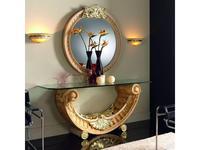 Zache Заче зеркало навесное  (blanco oro) Emperatriz