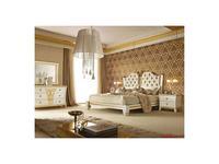 5127551 кровать двуспальная Gotha: Gold and Diamonds