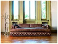 Zanaboni диван 3-х местный Atlantique кожа кат.H Atlantique
