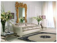 Zanaboni диван 2-х местный Orfeo кожа, ткань кат. 5 Orfeo