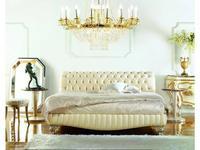 Zanaboni кровать двуспальная ткань кат.5 (бежевый) Asia