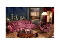 Tecni nova диван угловой 3-х местный с шезлонгом (розовый) Elegance