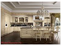 Home Cucine кухня  (белый состаренный) Gold Elite