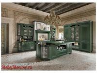 Home Cucine кухня  (зеленый с серебром) Gold Elite