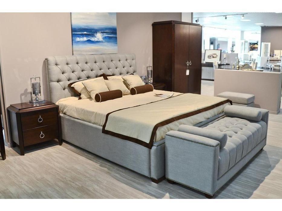 Fratelli Barri кровать 180х200 с под-м мех-м (шпон вишни) Mestre