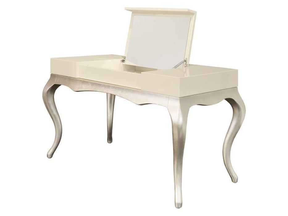 Fratelli Barri стол туалетный  (кремовый лак, серебро) Venezia
