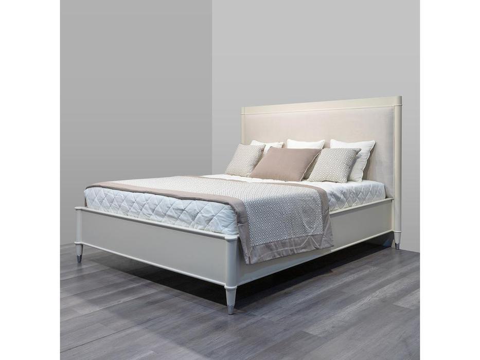 Fratelli Barri кровать двуспальная 180х200 (матовый бежевый лак) Modena