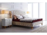 5220092 кровать двуспальная Fratelli Barri: Rimini