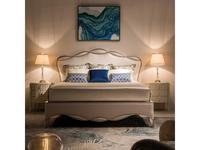 Fratelli Barri кровать двуспальная 180х200 (серебро, бежевый) Rimini