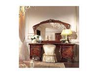Barnini Oseo зеркало настенное для туалетного (орех, золото) Reggenza Luxury