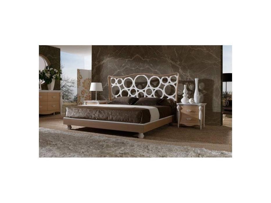 Mobil fresno кровать двуспальная 160х190 (дуб, лак) Venus