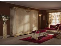 Moblesa шкаф 6-ти дверный  (stuco) Gold