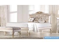 Keoma кровать двуспальная 160х200 ткань кат. Super (слоновая кость) Patrizia