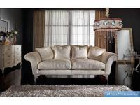 Keoma диван 2-х местный ткань кат. Super (крем) Fiorenza