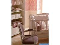 Frari кресло-качалка  (слоновая кость, розовый) Rose Bebe