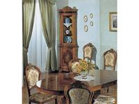 Tarocco Vaccari витрина угловая  (орех) Luxury