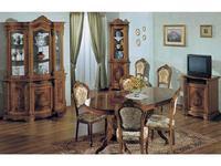 Tarocco Vaccari стол обеденный на 10 человек раскладной (орех) Luxury