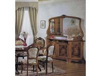 Tarocco Vaccari буфет 4-х дверный (орех) Luxury
