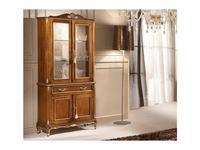 Tarocco Vaccari витрина 2-х дверная  (орех, золото) Passioni