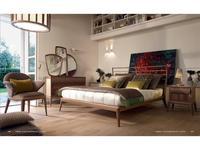 Volpi кровать двуспальная 160х190 Ribot (ясень) Contemporary