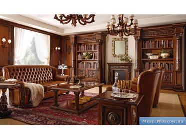 Мебель для кабинета фабрики Mobil Deri на заказ