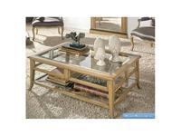 AM Classic стол журнальный  (медовый, кремовый) Parquet