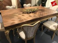 AM Classic стол обеденный  (вишня, орех) Lotus