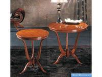 V. Villanova стол консольный круглый 80х80 (ciliegio madeira) Infinity