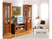 Liberty тумба под телевизор  (слоновая кость, золото) Флоренция