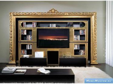 Мебель для гостиной фабрики Vismara Desing на заказ