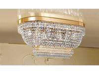 Masiero люстра потолочная  (золото, хрусталь) Atelier
