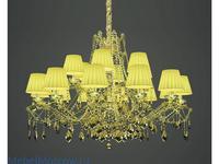 Masiero люстра подвесная 18×E14×40 W (желтый) Atelier