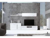 Mobax стенка в гостиную  (белый) Ilusion Home