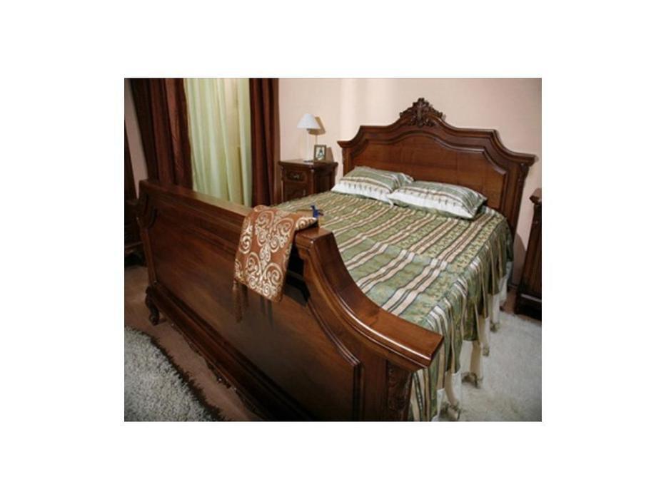 Simex кровать двуспальная 160х200 (орех) Роял